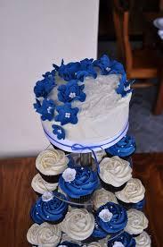 Best 25 Blue Wedding Cupcakes Ideas On Pinterest