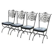 Black Wrought Iron Dining Chairs – Astridvonkweddingplanner 42 Black Metal Outdoor Fniture Ding Phi Villa 300lbs Wrought Iron Patio Bistro Chairs With Armrest For Genbackyard 2 Pack Wrought Iron Garden Fniture Mainstays 3piece Set Gorgeous Patio Design Using Black Chair And Round Table With Curving Legs Also Fabric Arlington House Chair Commercial Sams Club 2498 Slat At Home Lck Table2 Chairs Outdoor Gray Mesh Back