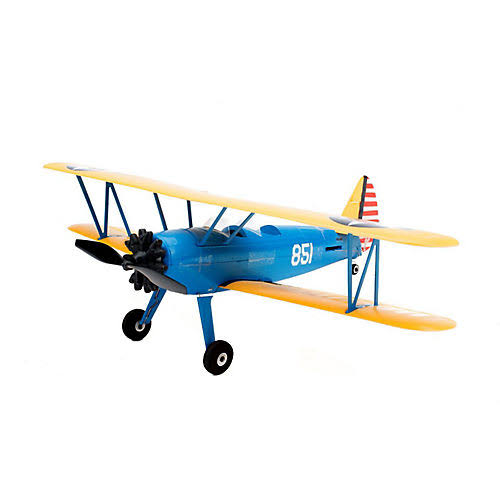 E-Flite Umx Pt-17 With As3x Bnf Airplane