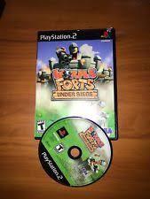 siege sony worms forts siege sony playstation 2 2005 ebay
