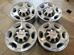 GMC SIERRA 2500 OEM 17″ RIMS WHEELS SET | Quick Deals Gmc Truck Wheels Chevy Kodiak Topkick 45500 Alcoa Alinum Wheels Buy 22x9 Chrome Sierra Style Set Of 4 22 Rims Fit Cadillac 28 Inch Wheels Rentawheel Ntatire Single For 12018 2500hd 35 Lift Kit Tuff Country 13085 2014 3500 Hd Denali Dually With 26 American Force 2018 3500hd Indepth Model Review Car And Driver 1500 Baller S116 Gallery Mht Inc 20x9 Wheel Fits Gm Trucks Satin Black 20 Rim 5668 28in Dub Exclusively From Butler Tires