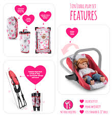 Litti Pritti 4 Piece Set Baby Doll Accessories - Includes ... Graco Pack N Play Playard With Cuddle Cove Rocking Seat Winslet The 6 Best N Plays Of 20 Bassinet 5 Playards Eat Well Explore Often Baby Shower Registry Your Amazoncom Graco Strollers Wwwlittlebabycomsg Little Vacation Basics Strollercar Seathigh Chair Buy Mommy Me 3 In 1 Doll Set Purple Special Promoexclusive Bundle Deal Contour Electra Playpen High Balancing Art 4 Portable Chairs Fisherprice Rock Sleeper Is Being Recalled Vox