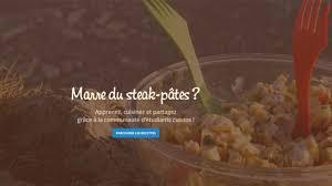 cuisiner 騁udiant cuisine étudiant le premier site qui met de la saveur dans l