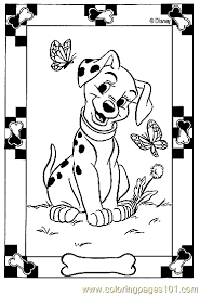 101 Dalmatians Coloring Page 11