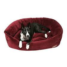 amazon com jax and bones ripple velour napper dog bed storm