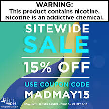 Save 15% On Everything During Giant Vapes Midweek Madness ... Giant Vapes On Twitter Save 20 Alloy Blends And Gvfam Hash Tags Deskgram Vape Vape Coupon Codes Ocvapors Instagram Photos Videos Vapes Coupon Code Black Friday Deals Vespa Scooters Net Memorial Day Sale Off Sitewide Fs 25 Infamous For The Month Wny Smokey Snuff Coupons Giantvapes Profile Picdeer Best Electronic Cigarette Vaping Mods Tanks
