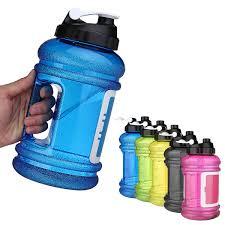 22L Big Large BPA Free Sport Gym Training Drink Water Bottle With Storage Case