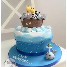 bildergebnis für arche noah kuchen taufe kuchen torte