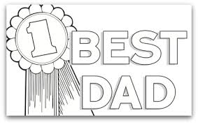 Free Printable Fathers Day Coloring Page In Dad We Trust Need A
