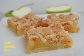 paruline en cuisine apple crumble bars plaisir et equilibre