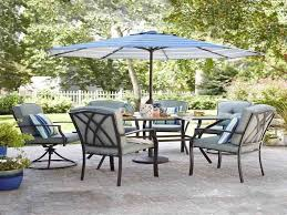 Patio Set Umbrella Walmart by Garden Design Offset Patio Umbrella With Base Garden Treasures