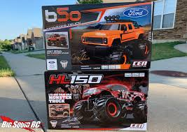 100 Racing Trucks Unboxing CEN HL150 And Ford B50 110 Solid Axle