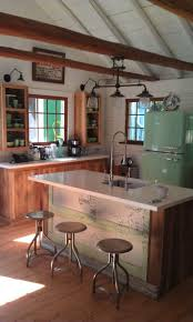 Barnwood Kitchen Cabinets Modern Rustic White Decorating Ideas How To Make