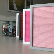 Pink Felt Letter Board By Threepotatofour Letter Board Bando