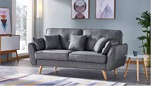 de moloo otto ausziehbarem sofa 3 sitzer stoff