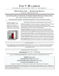 Marketing Resume Examples Executive Writer Smith Award Winning Sample Templates 2016