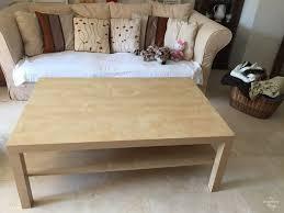 Used Ikea Lack Sofa Table by Ikea Lack Coffee Table Hack