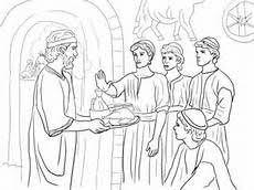 Three Hebrew Boys Bible Coloring Clip Art