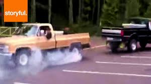 Ford Against Chevy In Hilarious Truck Tug Of War - YouTube