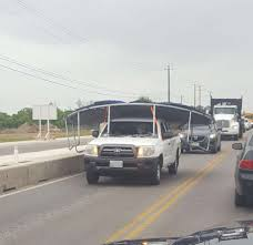 100 Truck Well San Antonio Driver Opts For Creative Possibly Illegal Way To Move