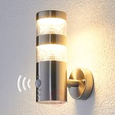 led outdoor wall light lanea with motion sensor backyard excellent