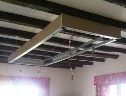 plafond a caisson suspendu caisson d éclairage suspendu système kinook