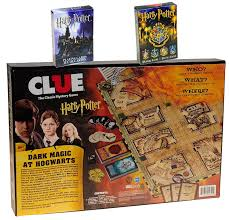Clue Harry Potter Board Game Bonus 2 Unique Decks Of Themed Playing Cards