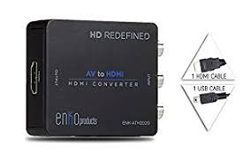 Amazon Mini posite RCA CVBS AV To HDMI Converter Input