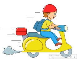 Ride Clipart Scooter 2