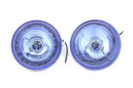 Harley Davidson Light Bulbs by V Twin Halogen Blue 4 1 2