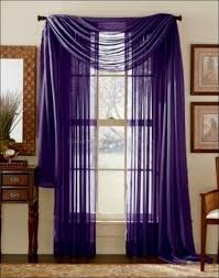 Purple Waterfall Ruffle Curtains by Interiors Marvelous Small Window Curtains Waterfall Curtain