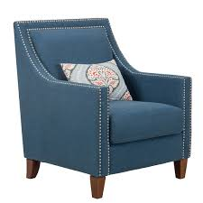 Homepop Blue Fabric Chair With Accent Pillow In 2019 | Dream House ... Toddlers Leather Upholstered Covers Brown Ding Dogs Target For Bainbridge Blue Velvet 3 Seater Sofa Costco Uk Living Room Table And Chair Set Sets Kitchen Designs Accent Corner Fniture Clearance Ideas Excellent Perfect Design With Chairs Ottoman Restored Cognac Lounge Sale Elegant Arm Of 2 Sunvilla With Cost97com Chaise De Massage Dorado Office White Best Mid Century Light Oak By Inspire Q Pc Combo Navy Gray