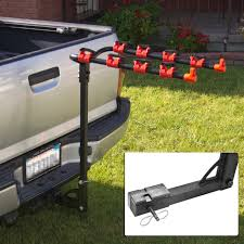 Bike Rack 4 Bicycle Hitch Mount Carrier Car Truck Auto 4 Bikes New ... Vestil Hitchmounted Truck Jib Crane 2019nissanfrontierspywheelshitchcamo The Fast Lane Stinger Hitch Find Lori Pinterest Utility Trailer Camper And Pintle Hitch Palmer Power Equipment Indianapolis Luverne Tow Guard For 2 212 3 Receiver Towing Where To Attach Ball On 1989 10ft Former Uhaul Truck Step Cap World Amazoncom Trimax Trz8al 8 Premium Alinum Adjustable With Getting Hitched Theories On Which Is Right For You Big Weatherproof Cargo Bag Fits 60 Trailer Tray Winterialcom Common Towing Mistakes Rv Magazine