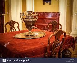 100 Victorian Era Interior Samovar On The Table In The Vintage Victorian Era Interior