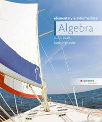 Combo Elementary And Intermediate Algebra With Connect Access Card