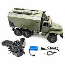 100 Rc Military Trucks WPL B36 Ural Army Truck Scale 116 24G 6WD RC Model Car