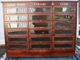 Arrow Shirts Collars Cuffs Display Case