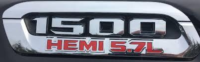 100 Ram Truck Decals HEMI 57L Decal Overlay Kit 2019 3SP 19 RAM HEMI 57L
