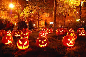 Fiber Optic Pumpkin Halloween by Halloween Pathway Lights How To Decorate For A Halloween Party