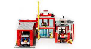 Lego City Fire Station GAMES /& TOYS|LEGO 60110 Christmas Supplies