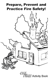 Cal Fire Just For Kids Sparky The Dog Coloring Pages