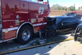 100 Fire Truck Driver 2 Who Stuffed Tesla Model S Into A Fire Truck At 65 Mph Blames