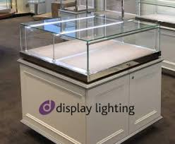 cabinet showcase lighting stalk lights cabinet display