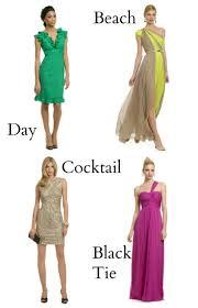 wedding dress codes 101 u2014 sparkhatch events