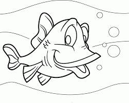 Nemo Fish Coloring Pages Realistic Rainbow Printables Kids