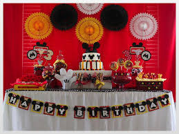 37 Adorable Mickey Mouse Birthday Party Ideas
