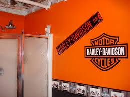 Image Of Harley Davidson Bath Decor
