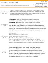Free Marketing Resume Templates 2018