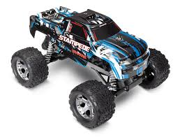Traxxas Stampede Monster Truck With TQ 2.4GHz Radio System (TRA36054 ...