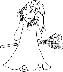 Coloring Pages For Kids Costume Pageshalloween